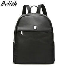 Bolish Soft PU Leather Women Backpack Vintage Girl School Bacpack Small Backpack