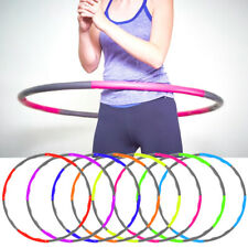 Hula Hoop Fitness Abs Workouts Core Exercises Weighted Padded Foam Hula Hoop