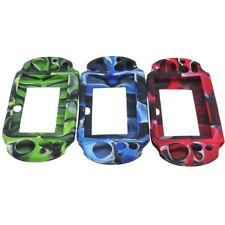Camouflage Soft Silicone Case Protection Skin For Sony PS Vita 2000 Brand New