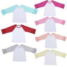 Baby Girls Toddler T Shirts Kids Icing Ruffle Shirt Tops Casual School Clothes