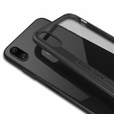 Clear Back Case for iPhone X,Thin Transparent PC & Silicone Cover Slim Phone She