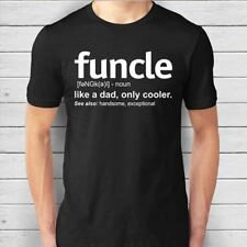 Mens Funcle Definition T-shirt Funny Gift for Uncle Tees Soft Cotton