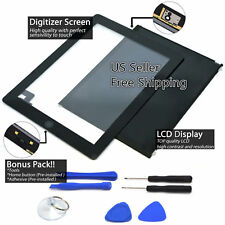 LCD + Touch Screen Digitizer Replacement For Apple iPad 2 A1395 A1396 A1397 Lot