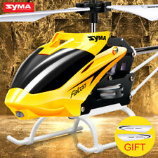 Toy Mini RC Helicopter Drone With Gyro Crash Resistant Toys Kids Boy Red Yellow