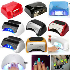 New Professional 9W UV/36W LED Gel Curing Lamp Light Nail Dryer w Timers Beauty