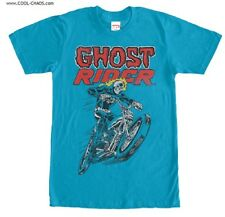 Ghost Rider T-Shirt / Cool Marvel Comics Super Hero Biker,Ghost Rider Men's Tee