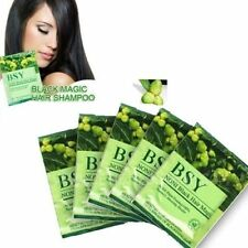 4 x 20ml  BSY NONI Black Hair Magic Shampoo 100% Natural Plant Essence Shampoo