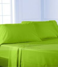 Bed Solid { Parrot Green } 100% Egyptian Cotton Select Sizes, Item & 1000 Count