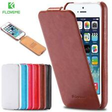 Leather Vertical Flip Phone Case For iPhone 5 5S