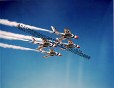 USAF THUNDERBIRDS F-84F COLOR PHOTO MILITARY AIR FORCE Combat Aircraft F 84