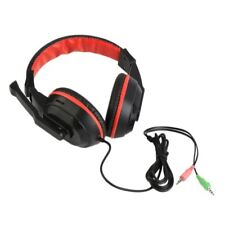 3.5mm Gaming Stereo Headset Earphone Headphones Xiaomi MP3 MP4 Mic PC