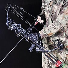 "19-30 ""/ 19-70 LBS Compound Bow and Arrow Archery Hunting Target Kit Limbs Bow"