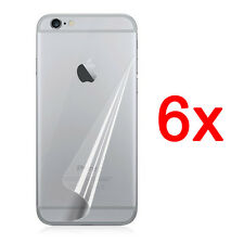 6pcs Back Ultra Clear Screen Protector Cover Film For iPhone 7 6 6s Plus 5S 4S