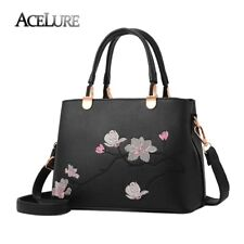 ACELURE Women Bag Embroidery Flowers Pattern Handbags National Tote Evening Bag