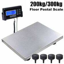440/660LBS DIGITAL POSTAL SCALE for SHIPPING WEIGHT POSTAGE KG/LB/OZ 200/300KG