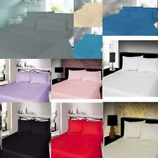 FLANNELETTE SHEET SET,100% Brushed cotton FLANNEL FITTED FLAT SHEETS PILLOWCASE