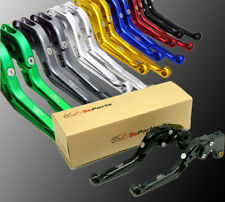 CNC Foldable Anodized Short Brake Clutch Lever for 12-2014 Kawasaki Versys 1000