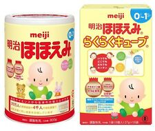 MEIJI Baby Powder & Cube Milk Set for 0-1 and 1-3 years Made in Japan Worldwide!