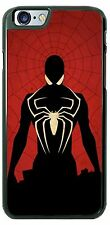 Black Spiderman Villain Phone Case Cover for iPhone 7 Samsung s8 LG HTC etc