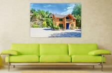 Canvas Poster Wall Art Print Decor Anime Late Stage The Scenery