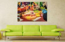 Canvas Poster Wall Art Print Decor Yellow Submarine The Beatles Toy