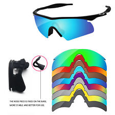 Nose Piece + Polarized Replacement Lenses For-Oakley M Frame Hybrid -Options