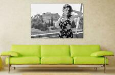 Canvas Poster Wall Art Print Decor Black And White Portrait Outdoor