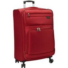 """Skyway Sigma 5.0 25"""" 4 Wheel Expandable Upright 3 Colors Softside Checked NEW"""