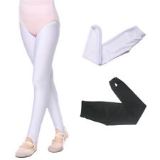 Girls Kids Stirrup Tights Pantyhose Hosiery Stocking Opaque Ballet Dance Wear