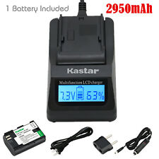 Kastar 1 Battery & Fast Charger kit for Canon LP-E6 LP-E6N LPE6 LPE6N LC-E6