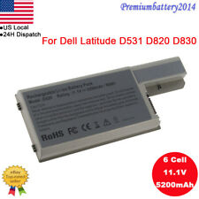 6/9 Cell Battery for Dell Latitude D820 D830 D531 D531N CF623 CF704 DF230 DF249