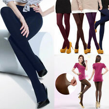 1PC New Velvet Pantyhose Footed Tights Winter Stockings Thick 120D Solid Color