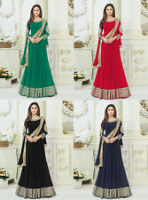 Indian Bollywood Salwar Kameez Ethnic Designer Anarkali Wedding Suit VL6