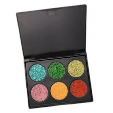 Natural Eye Shadow Shimmer Cosmetic Makeup Glitter Eyeshadow Palette 6 Shade