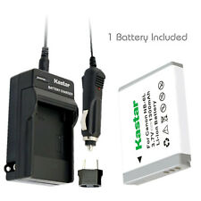 Kastar 1 Battery & Normal Charger kit for Canon NB-6L NB6L NB-6LH NB6LH CB-2LY