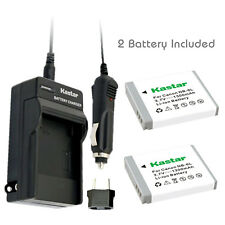 Kastar 2 Battery & Normal Charger kit for Canon NB-6L NB6L NB-6LH NB6LH CB-2LY