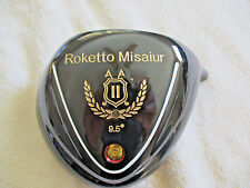 Nonconforming ILLegal Hicor Roketto Misaiur Golf Driver choose your UST shaft