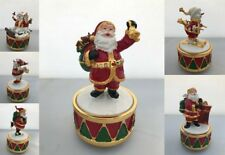 Father Christmas Musical Figurine Ornament Snowman Santa Xmas Gift LP28282 28283