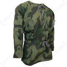 WW2 German SPLINTER CAMOUFLAGE SMOCK - All Sizes ww2 - Repro Camo Uniform Linen