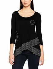 Desigual Women's Lorena Knitted Long Sleeve T-Shirt - Choose SZ/Color