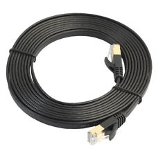 High Quality Cat7 RJ45 Flat Ethernet Cable Bare Copper Network Wire 1.8m-3m