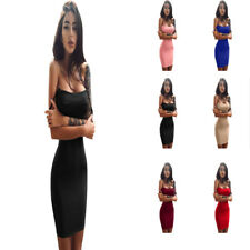 Evening Party Cocktail Clubwear Dress Fashion Womens Sleeveless Sexy Mini Dress