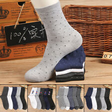 Business 5 Pairs Warm Classic Mens Casual Dress Socks Cotton Socks Multi Style