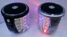Bluetooth Speaker colorful light Card Speakers T2096A subwoofer sound flash ON
