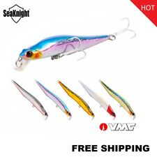 SeaKnight Minnow Fishing Lure SK032 Artificial Wobblers LOT 11.5g 110mm VMC hook