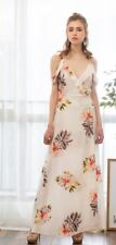 Women Spring Summer Spaghetti Strap Printing Long Maxi Dress S-l