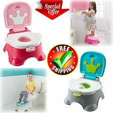 Toddler Potty Chair Seat Training Lot Portable Boy Girl Baby Kid Stepspool New