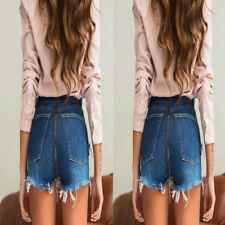 High Waist Casual Shorts Trousers Jeans Micro Shorts Denim Sexy Women Hot Pants
