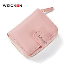 New Designer Women Soft Leather Wallets Coin Bag Small Wallet Purse Zipper Hasp