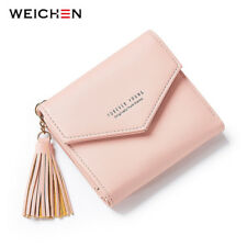 Woman's Wallets and Purses Tassel Pendant Day Clutch Wallet Coin Bag Card Holder